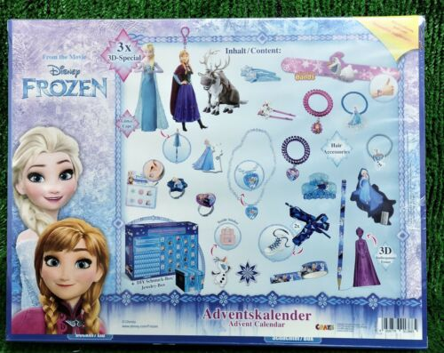 Graze Disney Frozen film Advent Calendario con 3d Specials Frozen spedizione 0 €