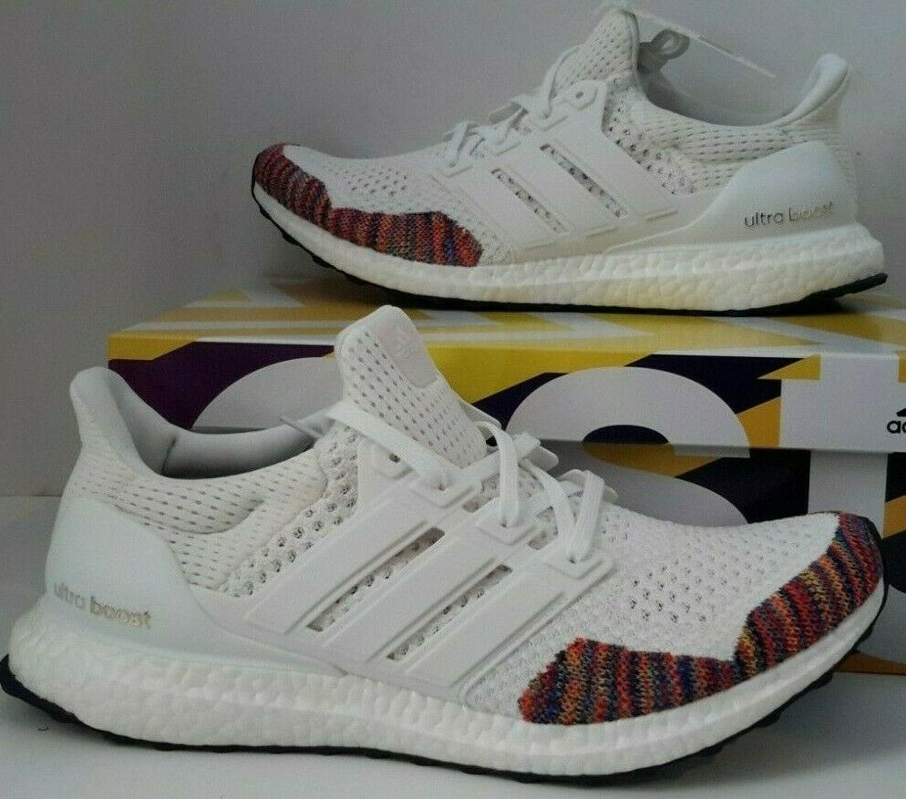 Mens Adidas Ultra Boost 1.0 Retro White Multi color BB7800 New Running shoes  11
