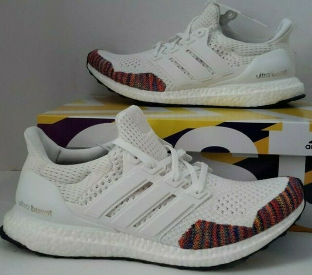 5478469d23a2c Mens Adidas Ultra Boost 1.0 Retro White Multi Color BB7800 New Running  Shoes 9.5