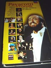Pavarotti and Friends - For The Children Of Liberia (VHS, 1998)