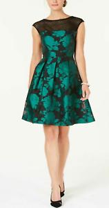 Jacquard Fit \u0026 Flare Dress