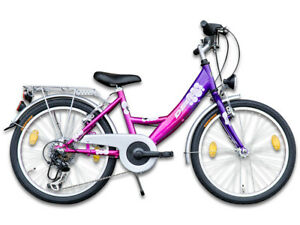 20 zoll m dchenfahrrad kinderfahrrad 6 gang fahrrad mit. Black Bedroom Furniture Sets. Home Design Ideas