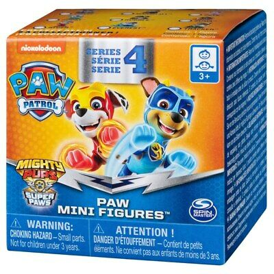 Paw Patrol Mighty Pups Charge Up Paws Mini Rescue Figures Series 6 NEW