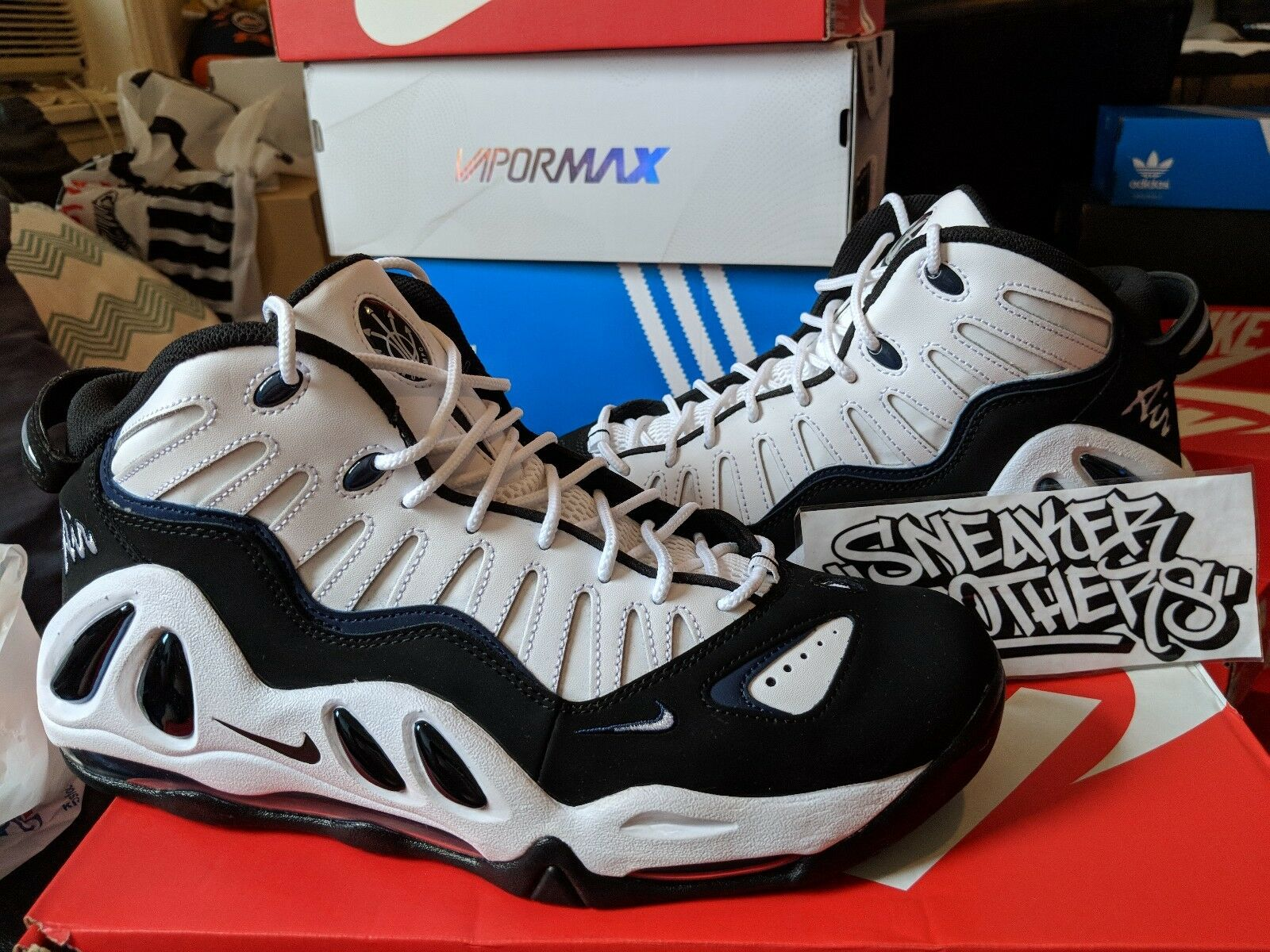online retailer 02b2f fc1ab Nike Air Max Uptempo Uptempo Uptempo 97 College Navy Blanco Pippen  Basketball Hombre 399207-101