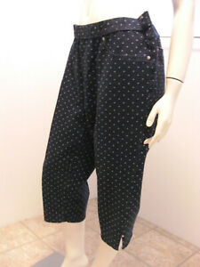 Everyday-Fit-By-Catherines-Blue-Curvy-Capri-Pants-White-Dots-0X-14-16W