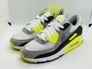 Nike-Air-Max-90-2020-034-OG-VOLT-034-NEW-Size-9-OFF-WHITE-SOLD-OUT-CD0881-103-NO-LID