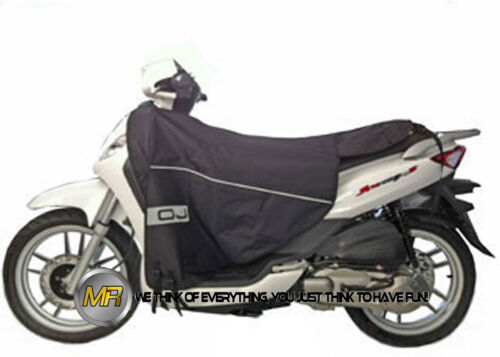 FOR PIAGGIO LIBERTY 125 4T FULL OPTIONAL 2011 11 WINTER WATERPROOF LEG COVER TER