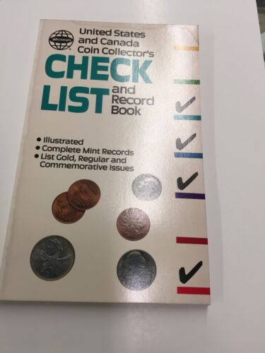 UNITED STATES AND CANADA COIN COLLECTORS CHECKLIST NEVER USED