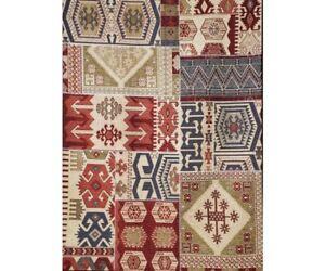 Tappeti Kilim Moderni : Tappeto moderno kilim effetto patchwork misure disponibili ebay