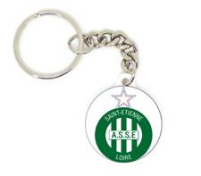 Porte clé badge ASSE SAINT ETIENNE LES VERTS football personnalisé collection