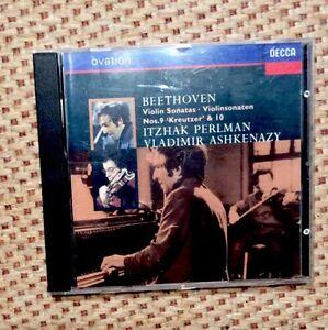 Beethoven-Violin-Sonatas-Nos-9-amp-10-Itzhak-Perlman-Vladimir-Ashkenazy-CD