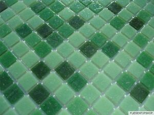 glas mosaik fliesen pool dusche bad gr n hellgr n dunkelgr n sauna mix ebay. Black Bedroom Furniture Sets. Home Design Ideas