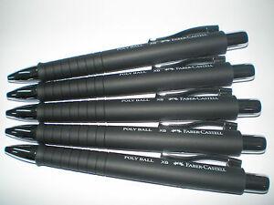Faber-Castell Kugelschreiber POLY BALL XB schwarz