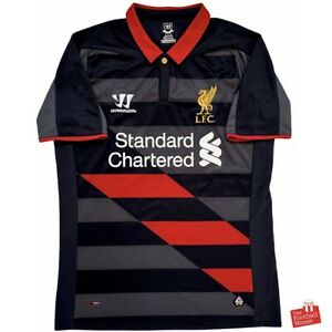 Authentic-Warrior-Liverpool-2014-15-Third-Jersey-Size-S-Excellent-Condition