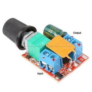 3v 35v 12v 24v Dc Motor Pwm Speed Control Controller Speed