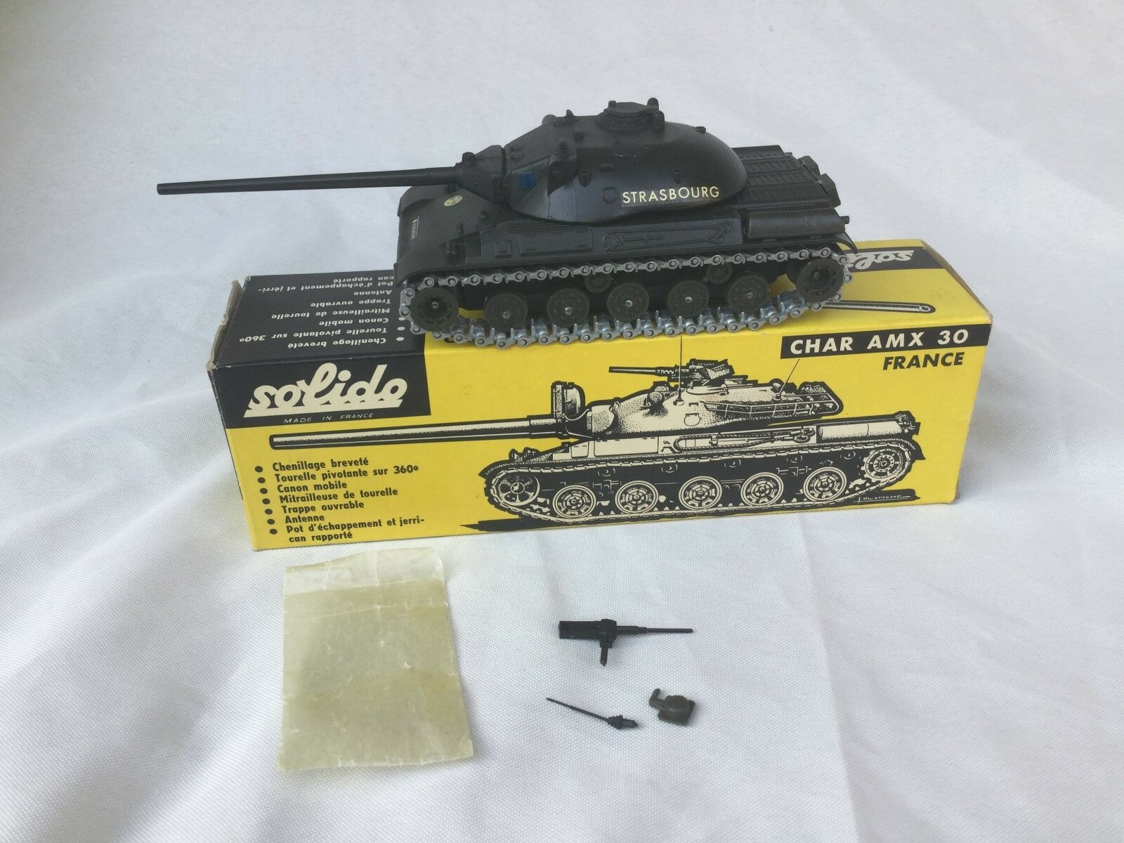 Solido No. 209 Char AMX 30 FRANCE en boîte