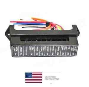 12-Way-Fuse-Box-ATO-ATC-Auto-Fuse-Holder-With-5-Inch-Wire-Lead