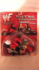 WWF Rare Bump N Bash Motorcycles Radical Rides Kane Action Figure 1998  NEW t686