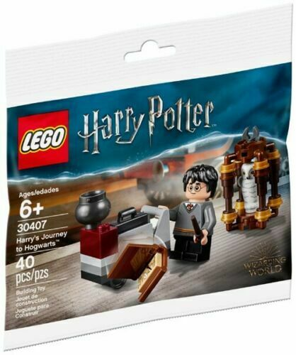 New LEGO Harry Potter Set 30407 Harry/'s Journey to Hogwarts Castle Hedwig Owl