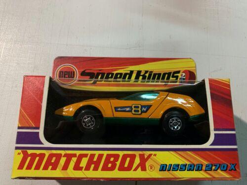 Matchbox Speed Kings K-42 Nissan 270X