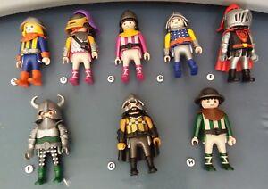 Playmobil hochgekremelte ARMS ARM KNIGHTS ROMANS Yankees Pirates Vikings