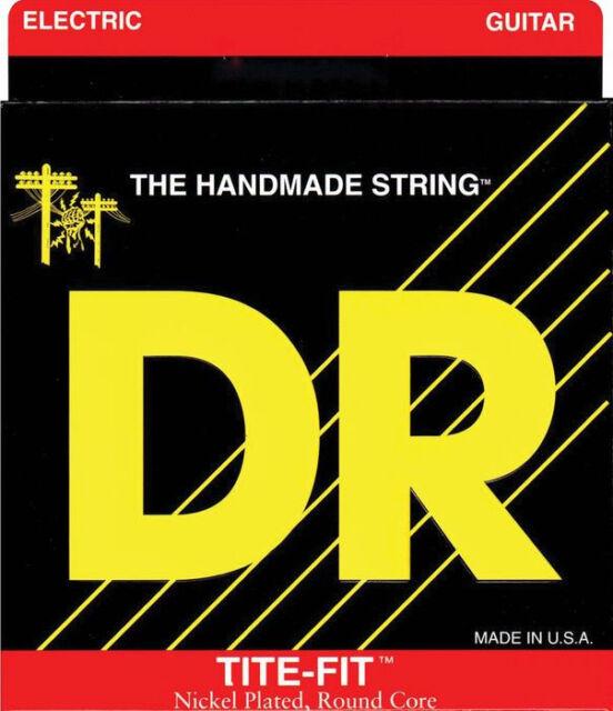 dr guitar strings electric tite fit 08 38 3 sets ultra light handmade usa for sale online ebay. Black Bedroom Furniture Sets. Home Design Ideas