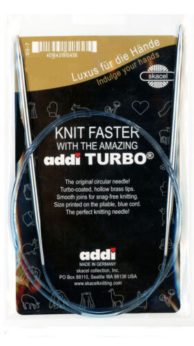 addi Turbo Circular 24in. 8.00mm 60cm Knitting Needle Sz US 11
