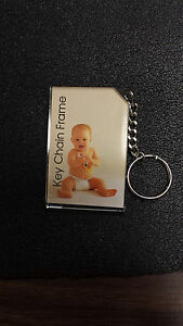 """Photo Key Chain 2X3/"""" Box//24 Thick Acrylic brand new sealed packages /& box ."""