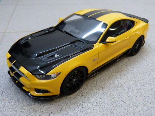 Ford Mustang Shelby GT 2015 Resin Series Jaune GT Spirit GTS ACME Voiture Miniature 1:18