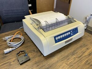 OKI Microline 420 - Dot Matrix - Model D22900A - Used - Great Condition w/ ink