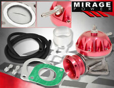 Universal Type Rz Weld On Pipe Bov Blow Off Valve Adapter Flange Turbo Kit Red Fits 2003 Mustang