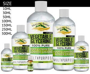 Details about Vegetable Glycerine / Glycerol, USP/BP Food, Cosmetic Grade,  Kosher Multipurpose