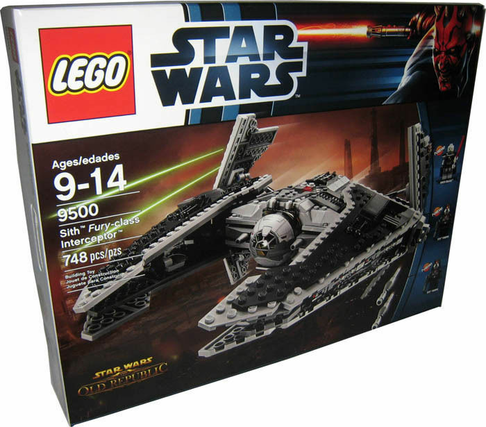 LEGO STAR WARS 9500 SITH FURY CLASS INTERCEPTOR  NEW SEALED