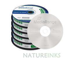 50 MediaRange DVD-RW 4.7GB 120 minutes 4x rewritable Retail Cakebox MR450