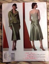 DONNA KARAN COLLECTION VOGUE Sewing Pattern Vogue V2862 Size 12 - 16