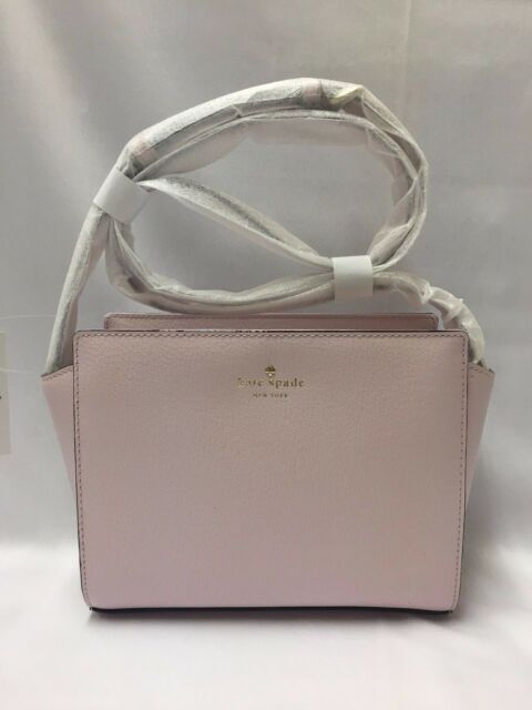 d4102692c Kate Spade Pink Leather Grand St Tote Purse Crossbody Shoulder Bag Satchel