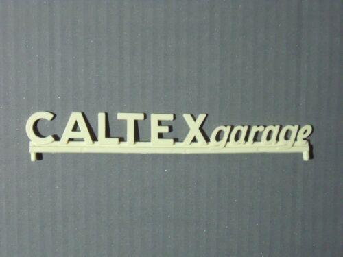 ENSEIGNE  CALTEXGARAGE   POUR  GARAGE  STATION  SIO  DEPREUX   VROOM  1//43