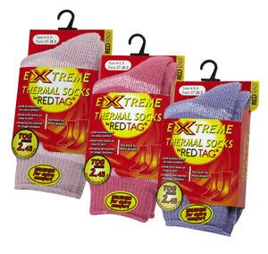 RED TAG Childrens Kids Boys Extreme Thermal Socks Plain TOG 2.45 Warm Winter