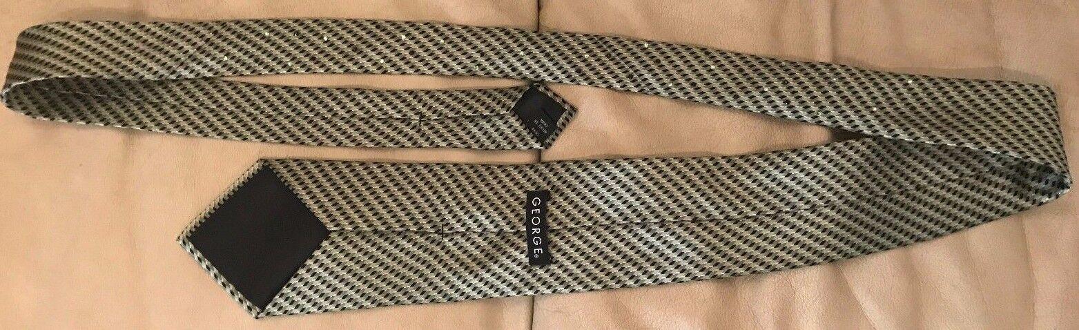 SADDLESEAT English Eq. Swarovski Crystal Dark Sage Green Silk Tie STYLISH