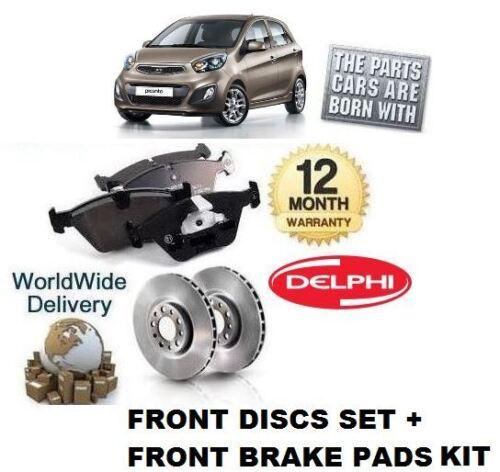 Pour KIA PICANTO 1.2 1,25 2011 kit de disque /& gt nouveaux disques de frein avant pads set