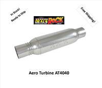 Aero Turbine Performance Exhaust 4 Muffler At4040