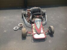 BARN FIND VINTAGE RACING GO KART CART. NO MOTOR.