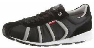 Levis-501-Performance-Sneaker-Schuh-40-Comfort-Tech-Leder-mix-Schwarz-Levi-s-NEU