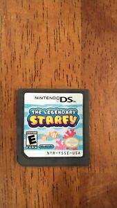 The Legendary STARFY (Nintendo DS, 2009) Authentic DS Cartridge Only ~ Tested