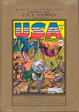 Golden Age USA Comics Vol. 1 by Stan Lee (2007, Hardcover)