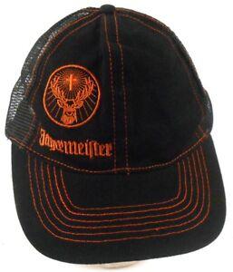Jagermeister-German-Digestif-Embroidered-Mesh-Trucker-Snapback-Cap-Hat