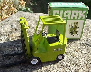 Vintage-rare-gescha-w-germany-1-25-diecast-297-clark-H500-chariot-elevateur-a-fourche-exc-b
