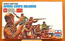 ESCI ERTL #206 - 1/72 WW2 German Afrika Corps Soldiers - mint boxed set