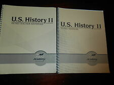ABeka UNITED STATES HISTORY HERITAGE OF FREEDOM video teacher man.homeschool