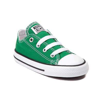 NEW Converse Chuck Taylor All Star Lo Amazon Green Toddler Baby Sneaker Shoe | eBay